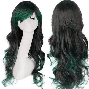 "✨Anaisee 26"" green 2 tone cutesy cosplay wig +NWT*"